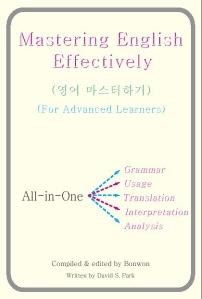 Mastering English Effectively(영어 마스터하기)(고급편)