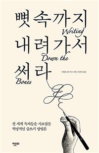 뼛속까지 내려가서 써라 - 전 세계 독자들을 사로잡은 혁명적인 글쓰기 방법론